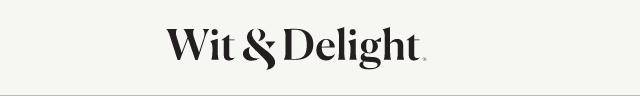 Wit & Delight Logo
