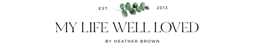 MY LIFE WELL LOVED logo
